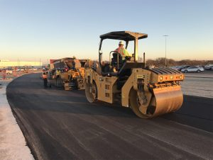 Asphalt Paving Road Construction