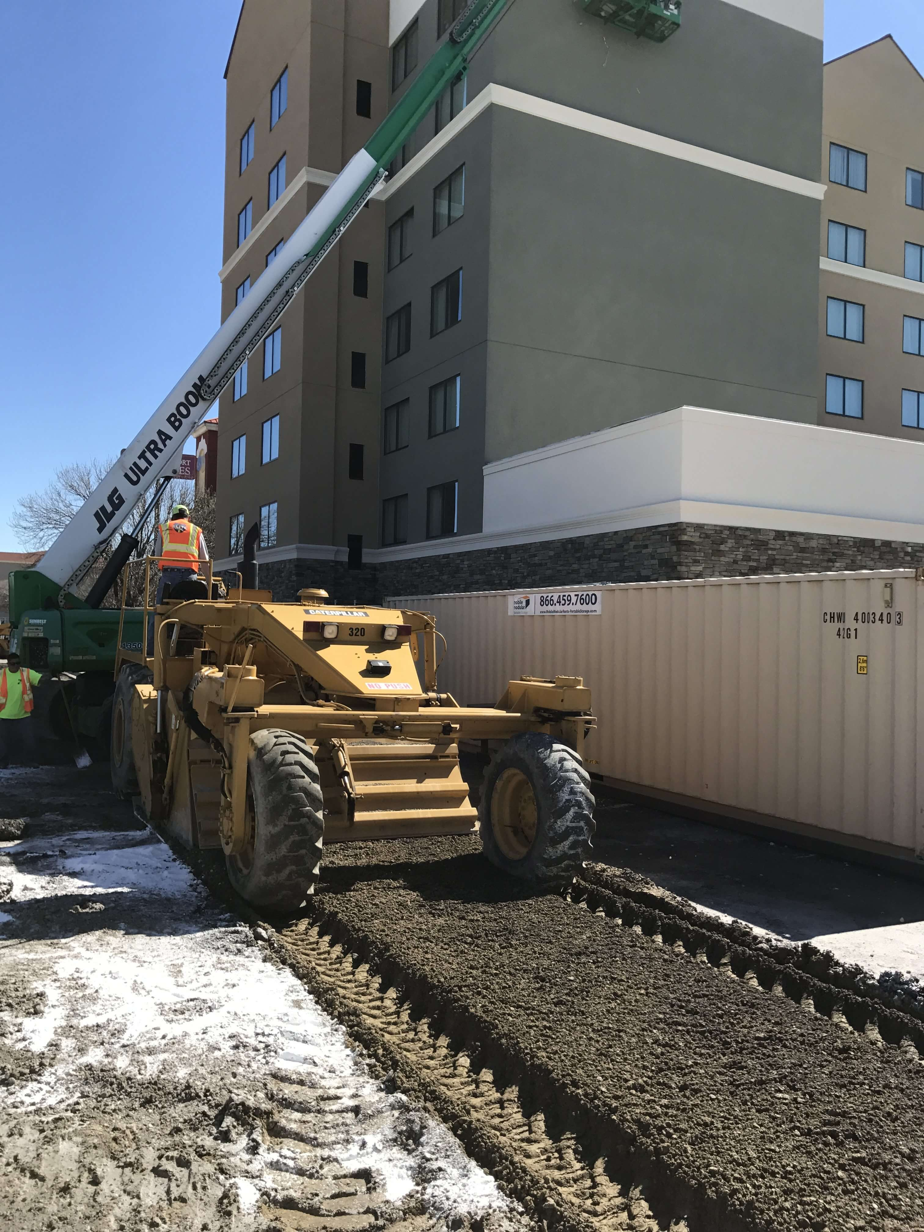 Pulverizing and stabilizing soft spots before asphalt paving
