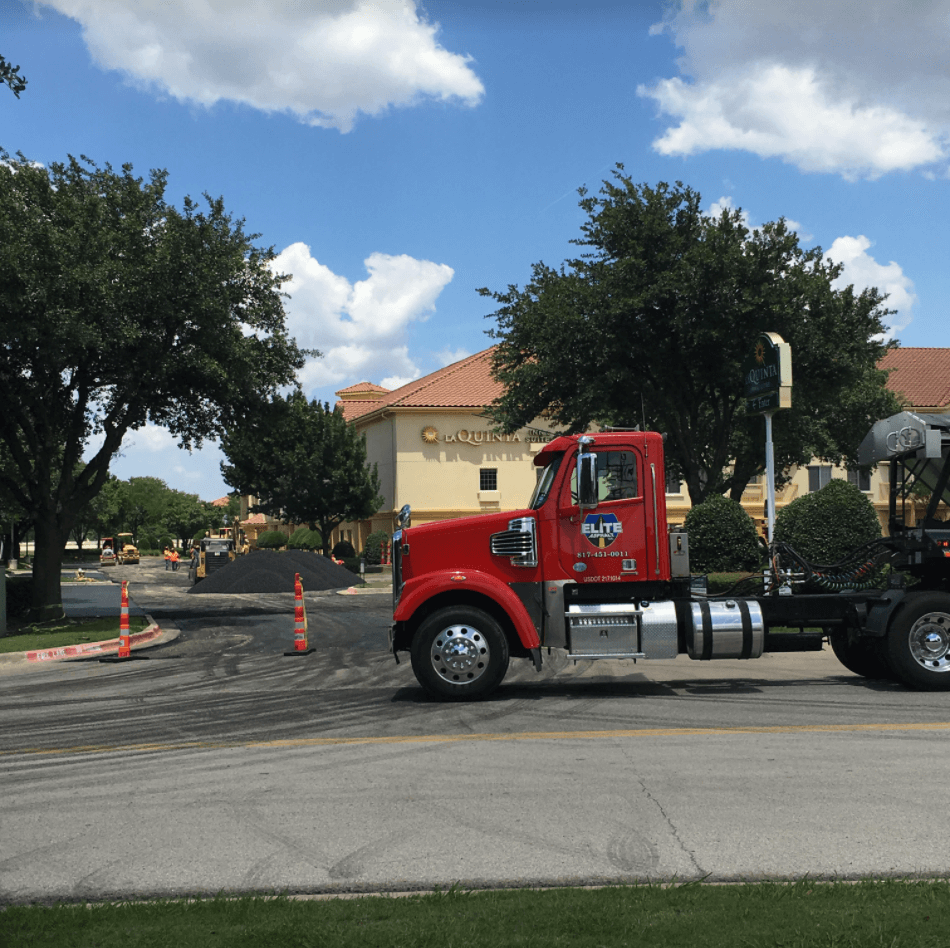 Hotel Parking Lot Stabilizing and Asphalt Paving