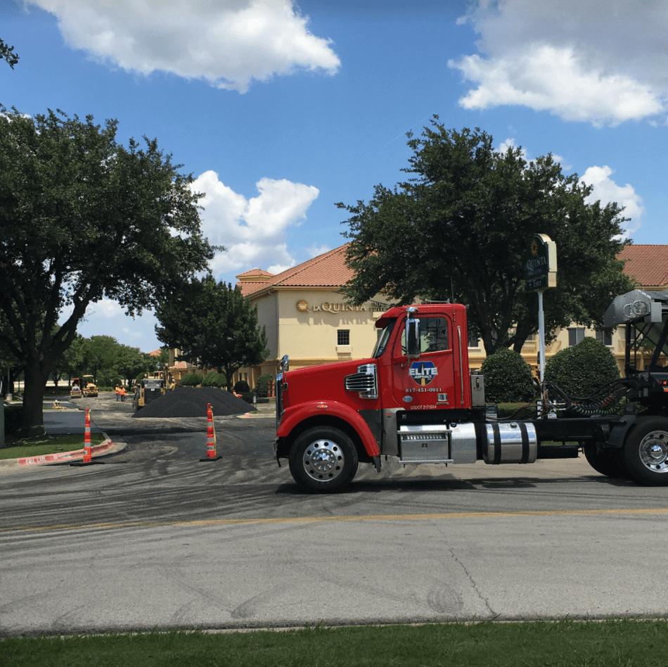 Hotel Parking Lot Stabilizing and Asphalt Paving