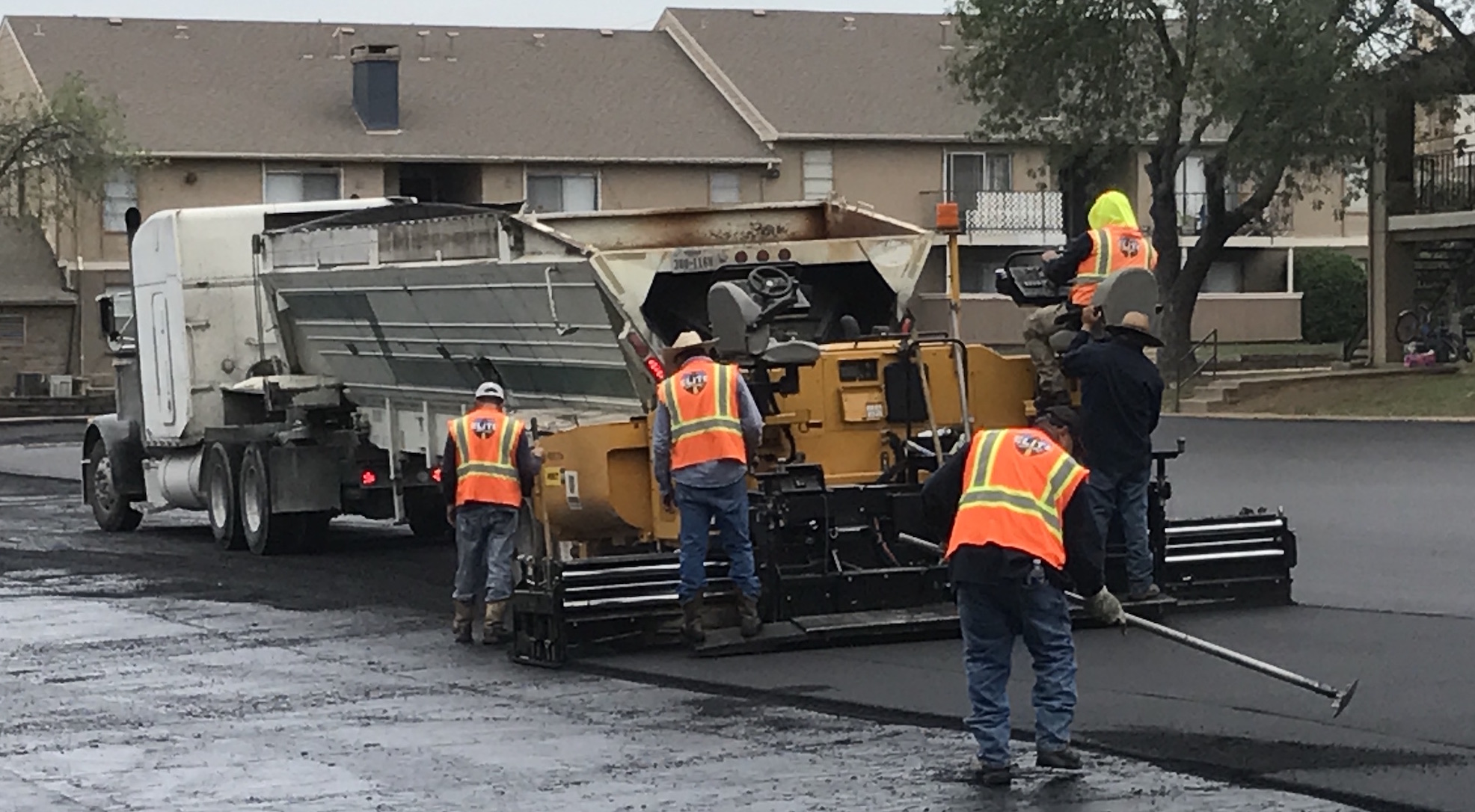 Asphalt Paving Crews In Your Area