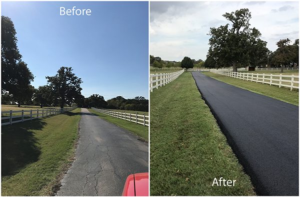 before and after resurfacing
