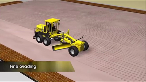 fine grading truck explanation