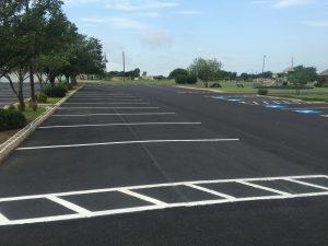 Parking Lot Finishing