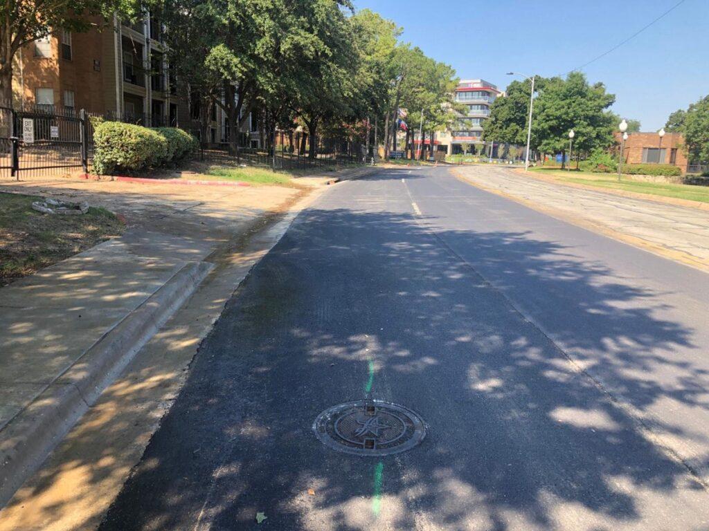 city street paving texas