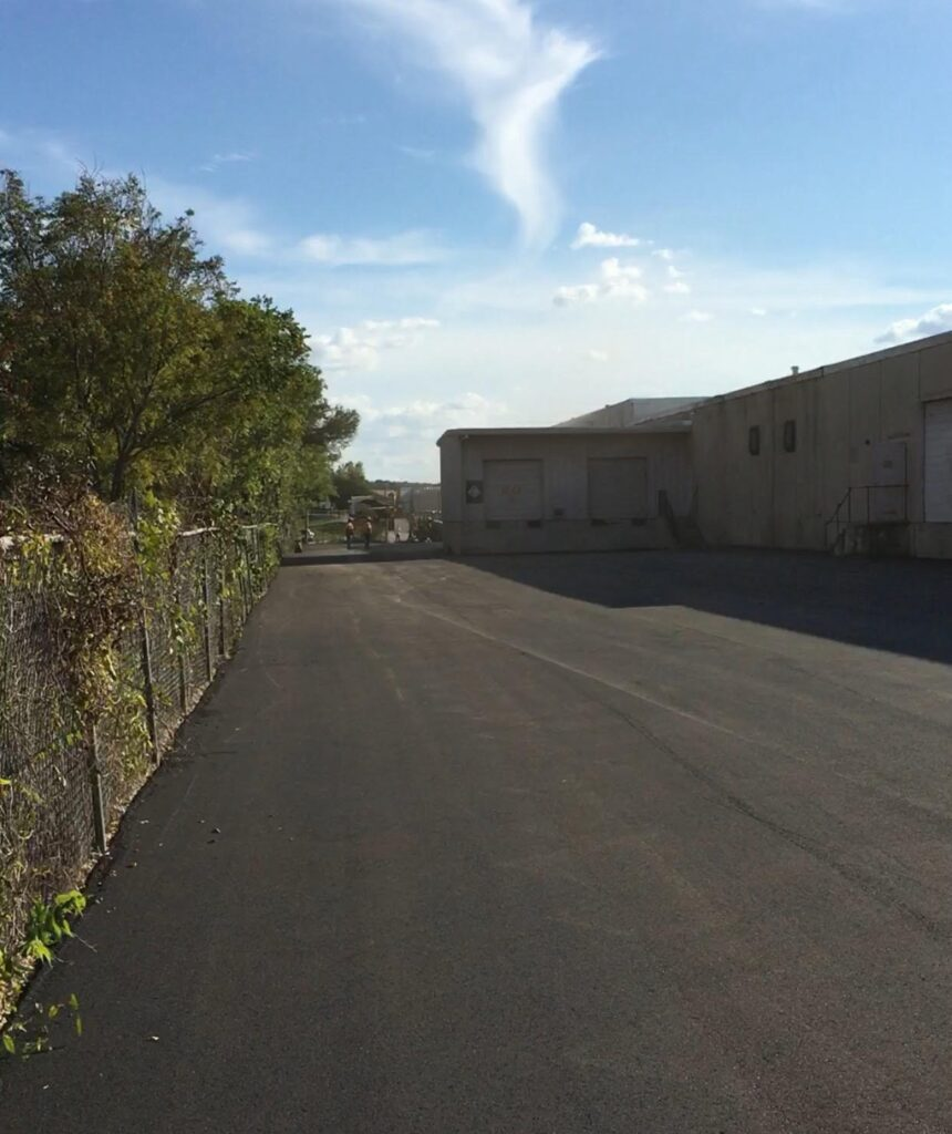 industrial paving after Fort worth TX