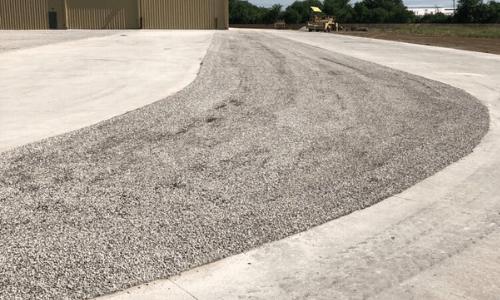 tar and chip seal driveway